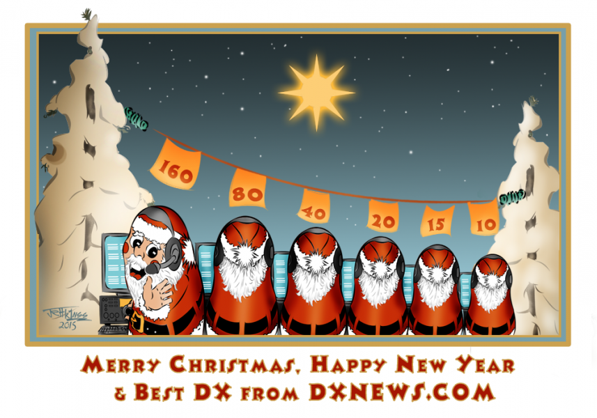 Merry Christmas and Happy New Year 2016 From dxnews.com