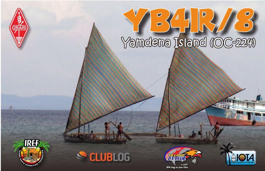 Yamdena Island Tanimbar Islands YB4IR/8