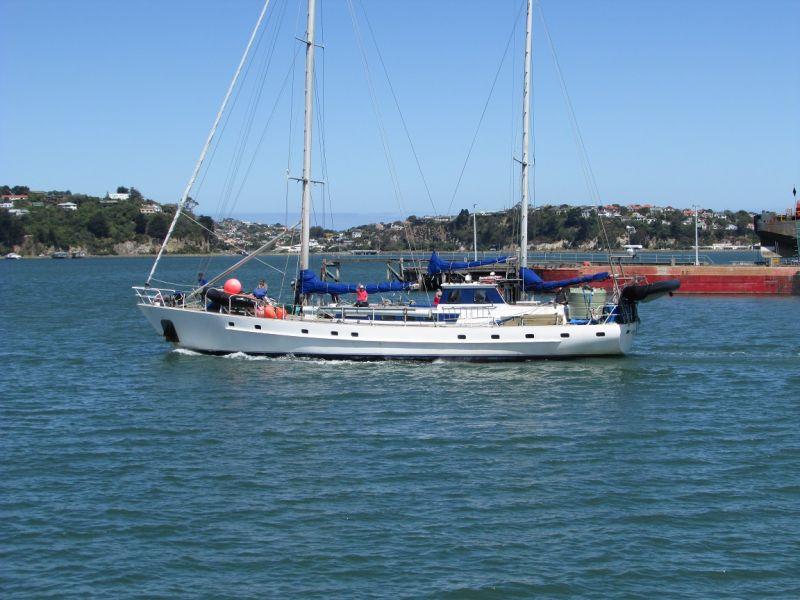 ZL9A Antipodes Islands Evohe ship