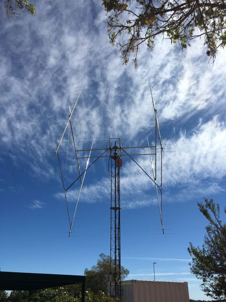 ZS4TX Bloemfontein South Africa EME Antennas photo