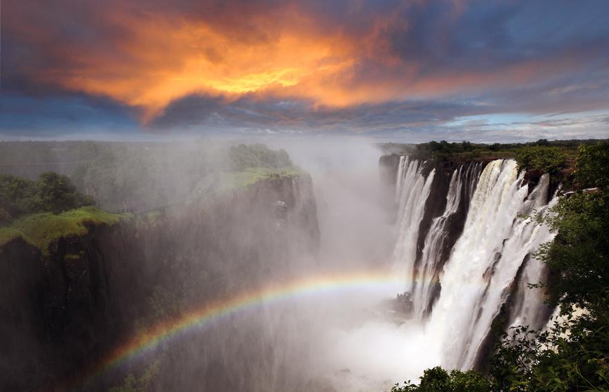 Замбия 9J2HN Водопад Виктория