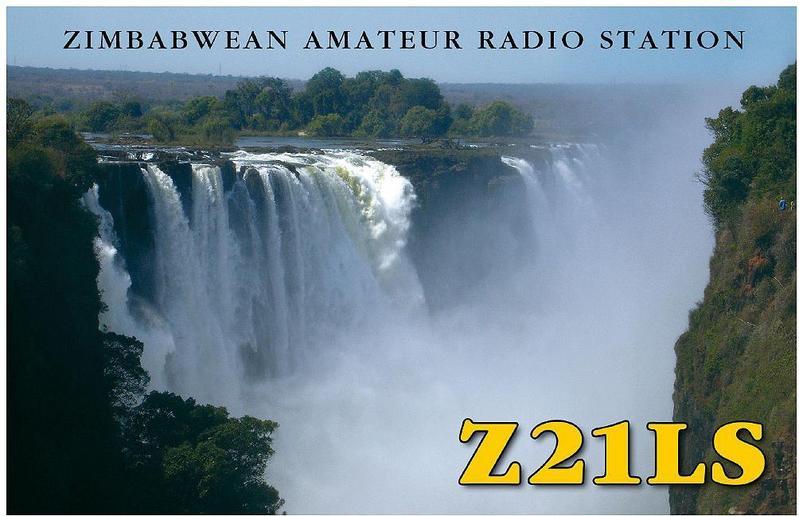 Зимбабве Z21LS QSL