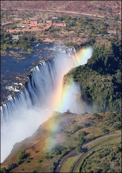 Зимбабве Z21CMC Z21EME Z21CHR Z21NK Туристические достопримечательности Водопад Виктория