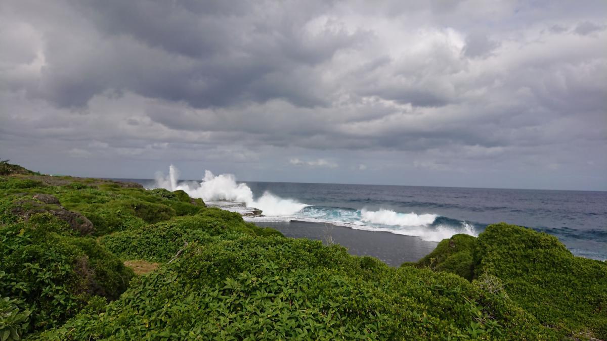 A35JY Tonga Tourist attractions spot