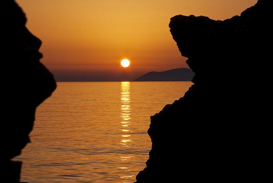 Albania ZA/PA2LS Tourist attractions spot Sunset