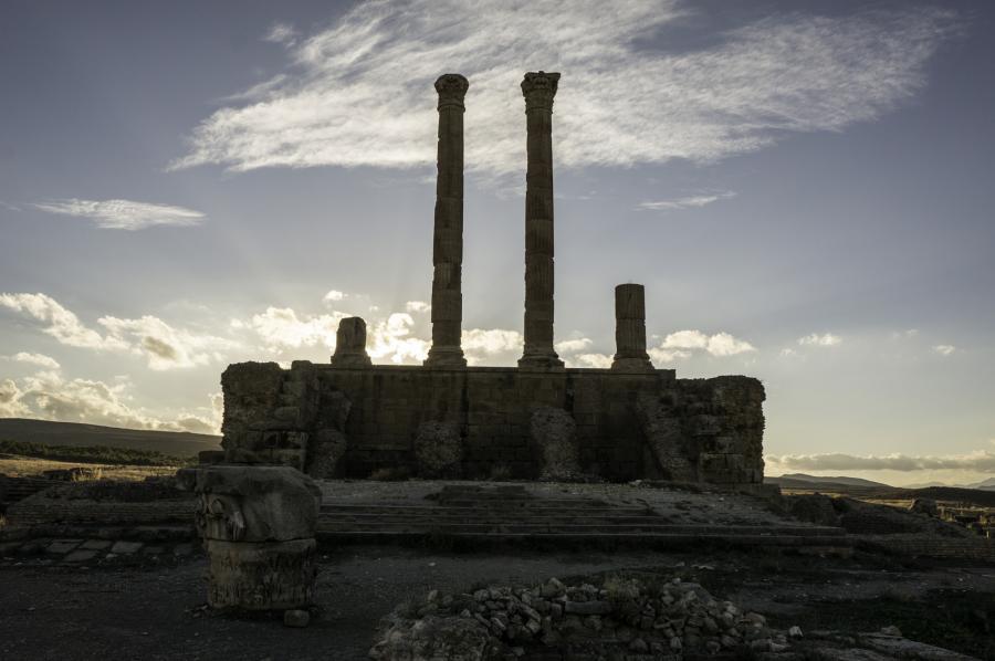 Алжир 7U1X DX Новости Тимгад