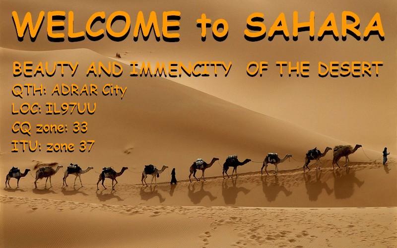 Algeria 7X3FG Sahara