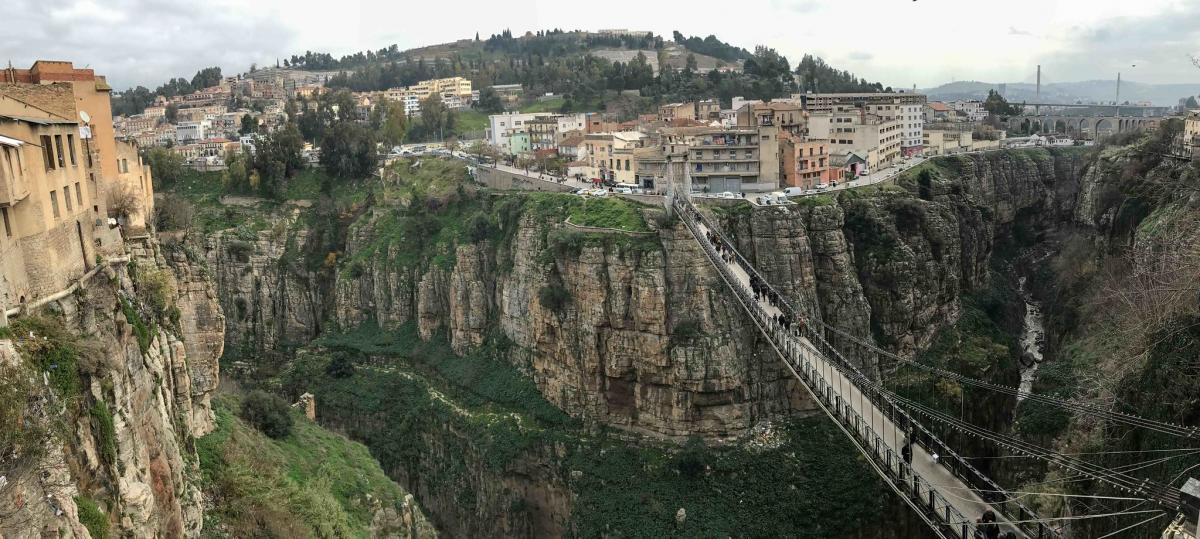 Город висячих мостов, Костантина, Алжир