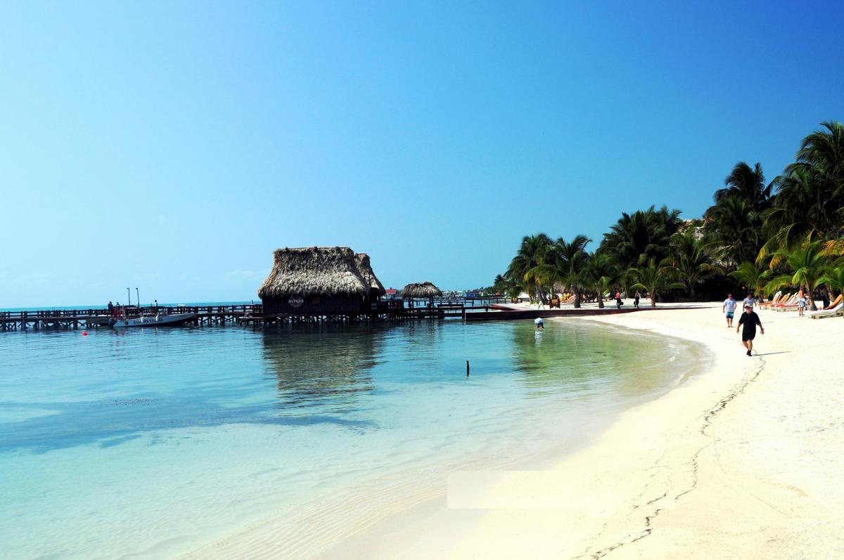 Остров Амбергрис Кайе V31CI Пляж Белиз
