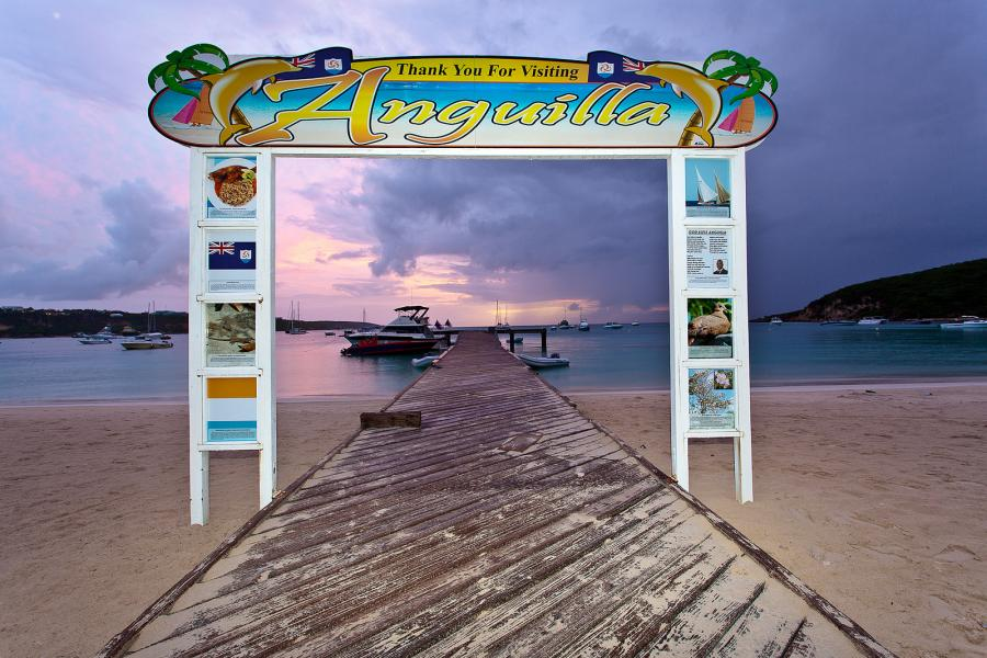 Anguilla Island VP2ESM VP2EHC Tourist attractions spot