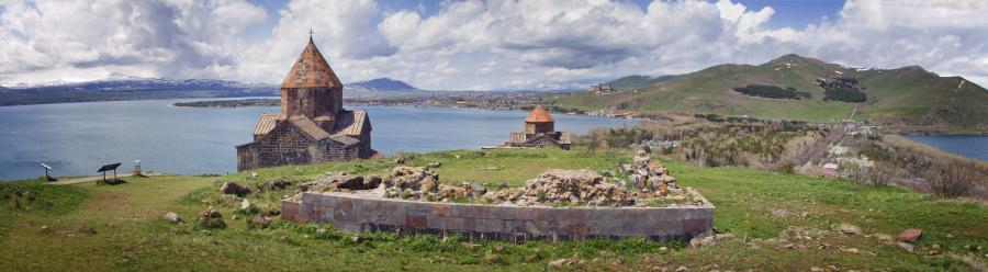 Armenia EK/RZ3DJ Tourist attractions spot Lake Sevan