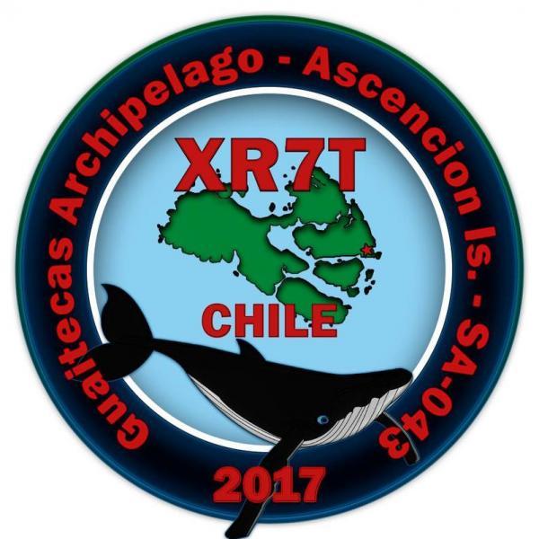 Остров Вознесения Архипелаг Гуаитекас XR7T Логотип
