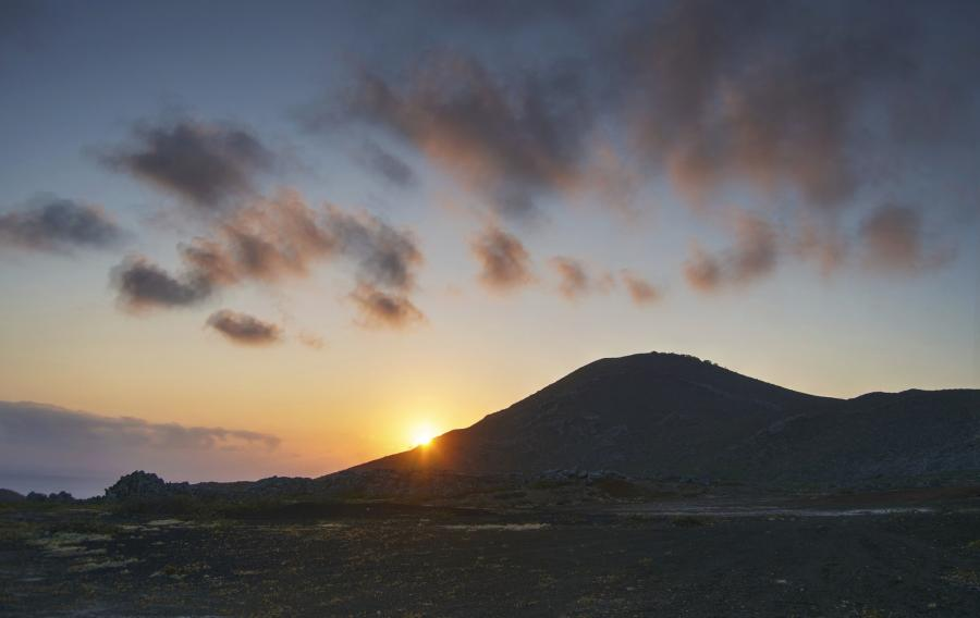 Ascension Island ZD8SC Sunset