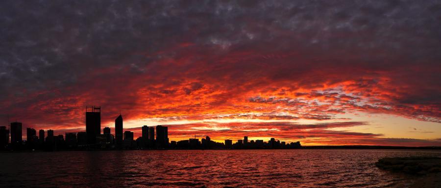 Australia Perth VK6NC DX News Sunrise