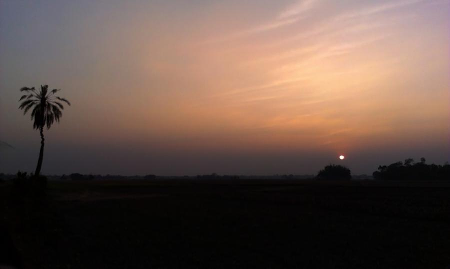 Bangladesh S21L DX News Sunset, Parshunam, Feni.