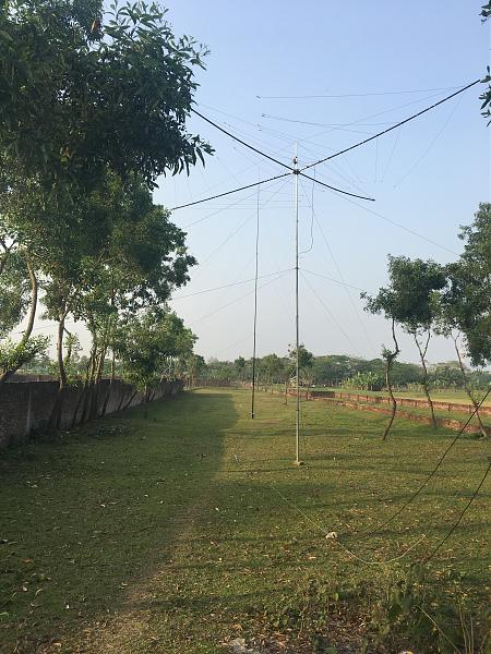 Bangladesh S21ZED S21ZEE Antennas