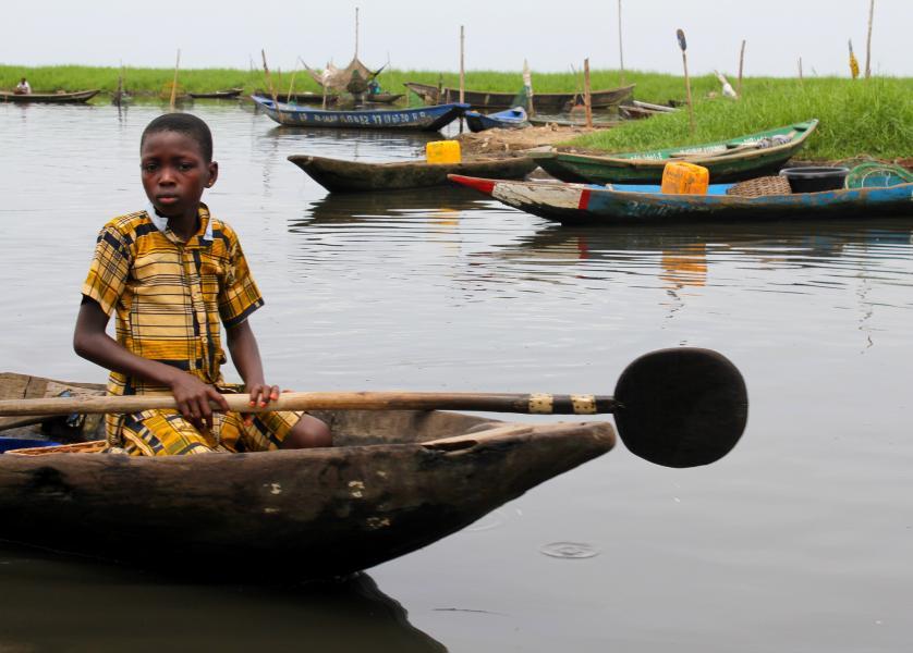 Benin TY5AA Ganvie.