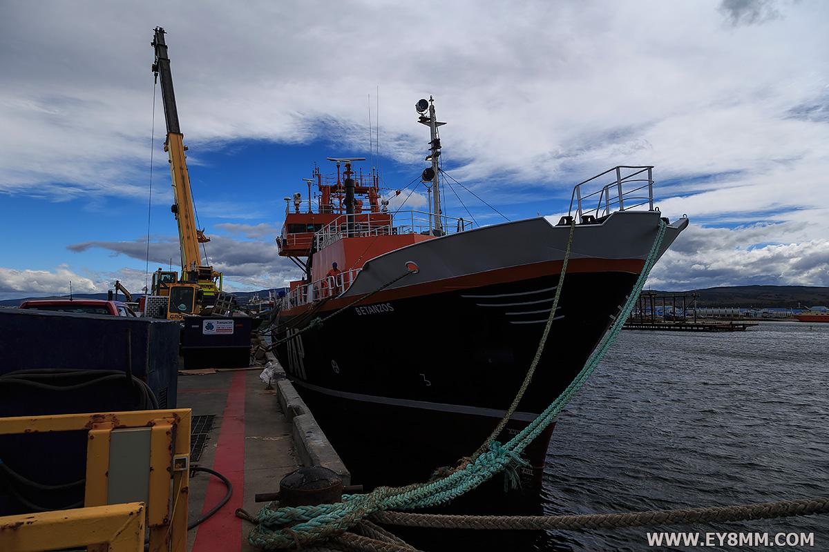 Betanzos 3Y0Z Ship Punta Arenas, Chile 18 January 2018