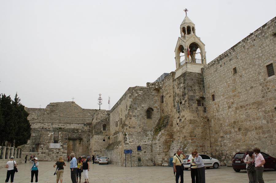 Вифлеем E44WE Палестина DX Новости Церковь Рождества Христова