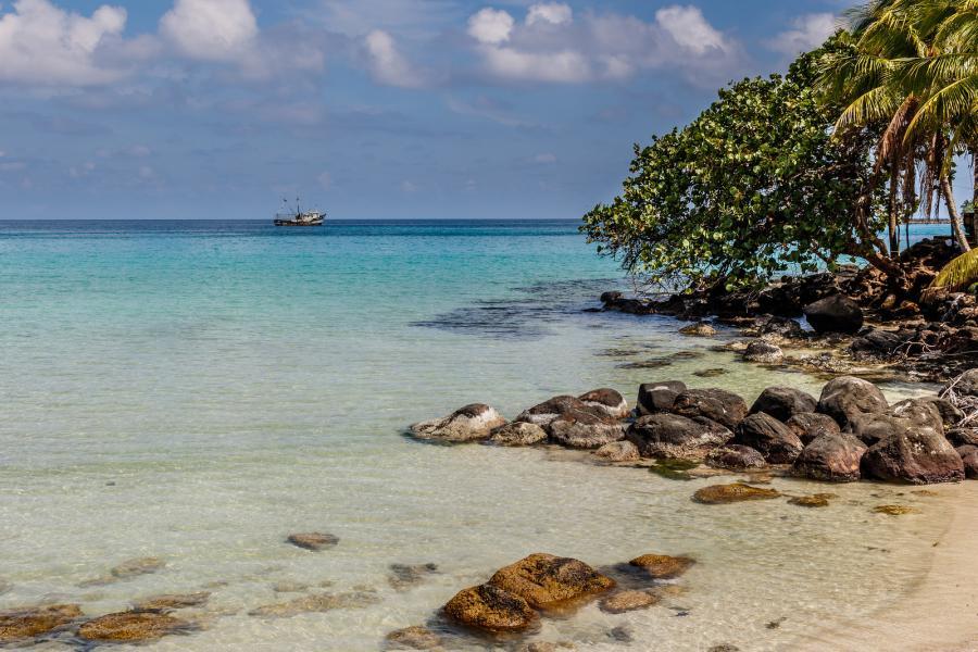 Остров Биг Корн H74B H74W Туристические достопримечательности