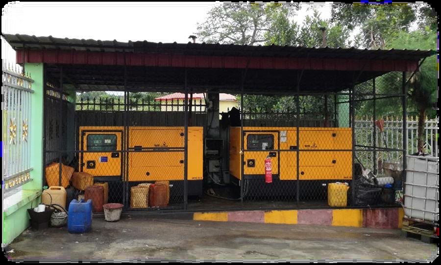 Bioko Island Equatorial Guinea Generators 2 x 36 kwt
