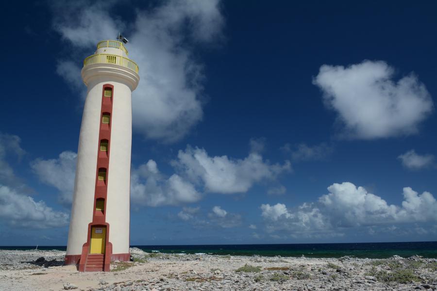 Bonaire Island PJ4/DL1COP PJ4/DC7MO Tourist attractions spot