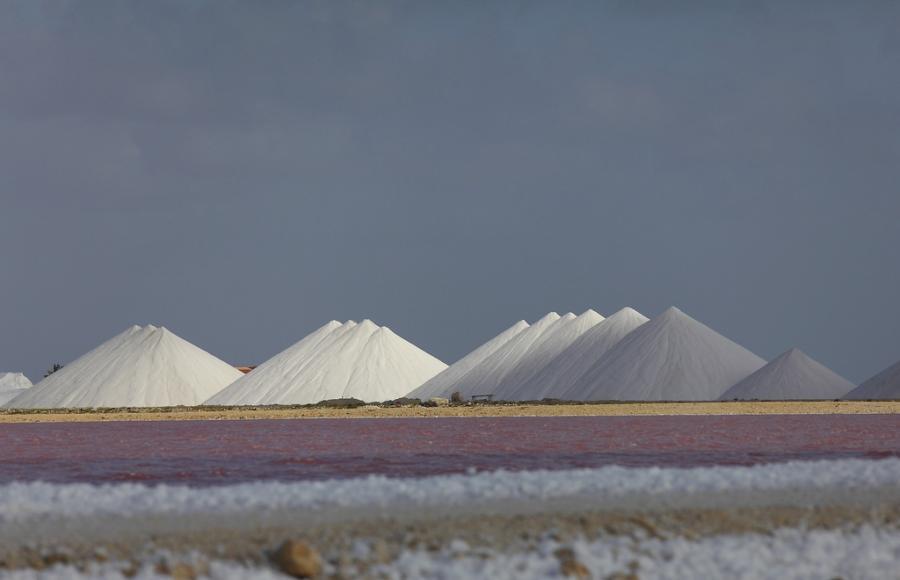 Остров Бонэйр PJ4L Туристические достопримечательности Пирамиды