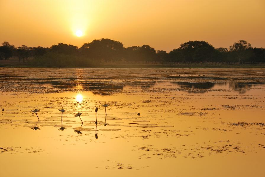 Буркина Фасо XT2AGI Озеро Тенгрела