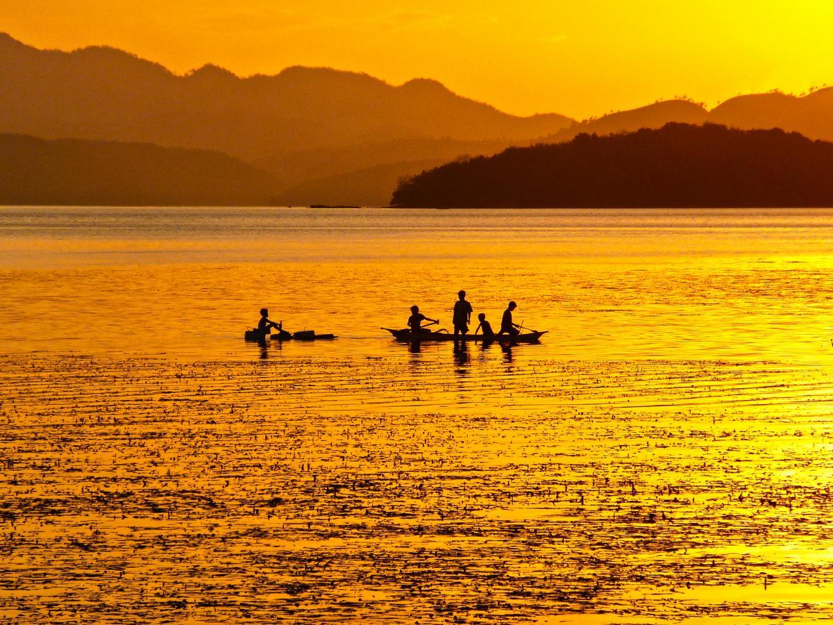 Busuanga Island DU1/SP5APW Sunset Coron
