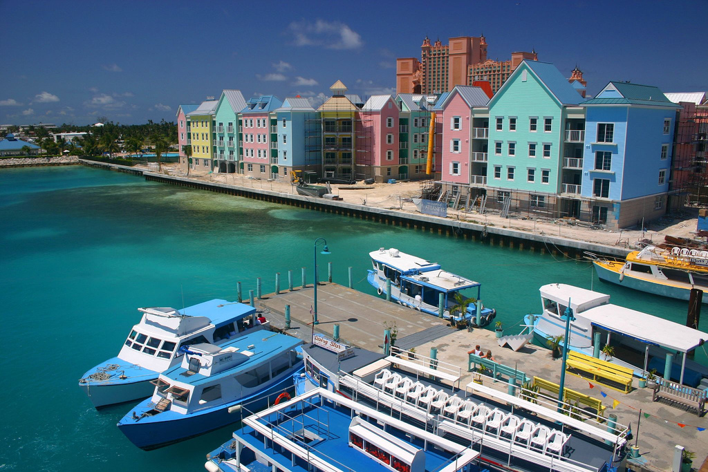 C6ARW The Bahamas Tourist attractions spot