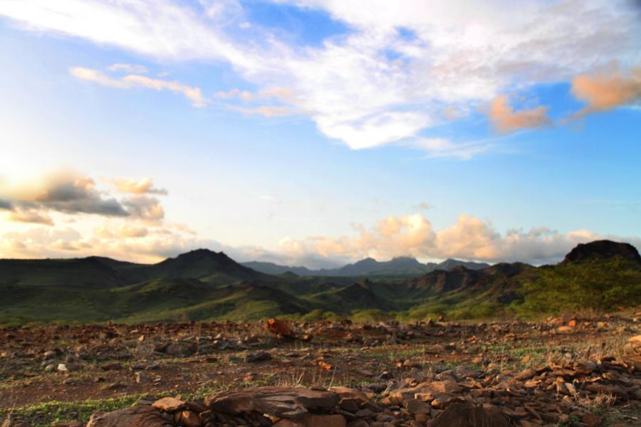 Кабо Верде D44TUL D44TUN Острова Зеленого Мыса Рибейра Гранде, остров Сантьягу.