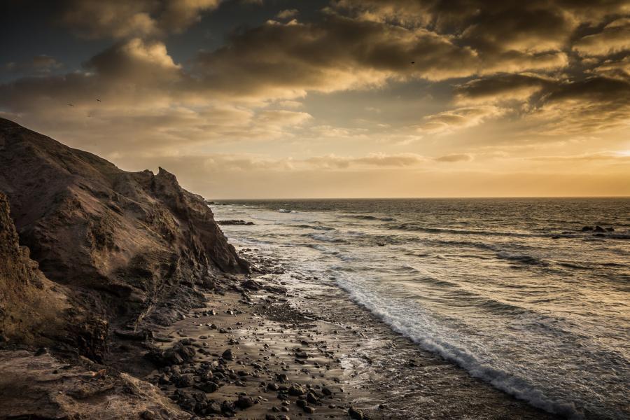 Канарские острова EE8Z Закат.