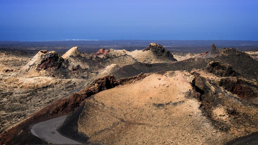 Canary Islands EF8R Timanfaya national park, Lanzarote.