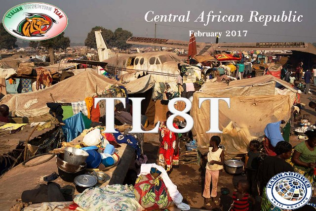 Центрально Африканская Республика TL8TT Логотип DX Экспедиции