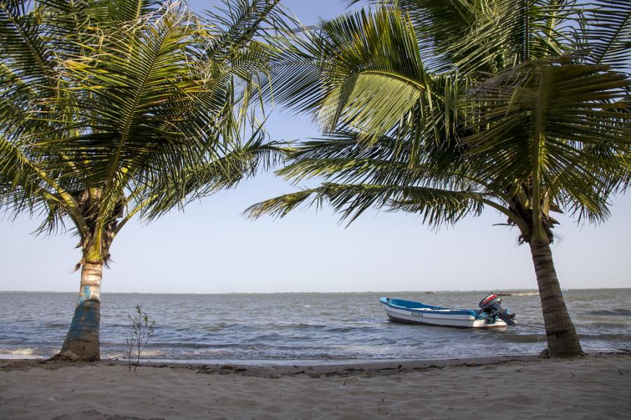 Остров Карабан Сенегал 6W/UA4WHX/P Туристические достопримечательности