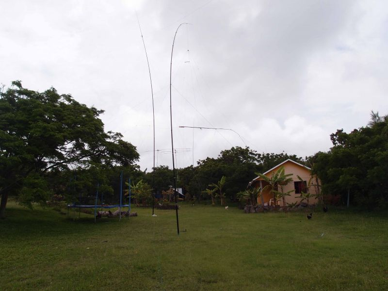Остров Пасхи Полный комплект антенн CE0Y/RZ3FW CE0Y/R4WAA