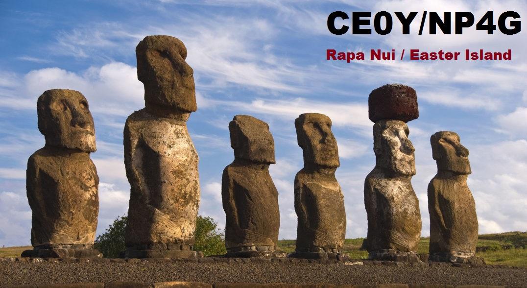 CE0Y/NP4G Rapa Nui Easter Island