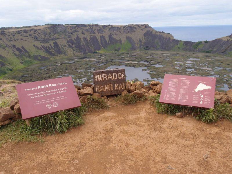 Остров Пасхи Вулкан