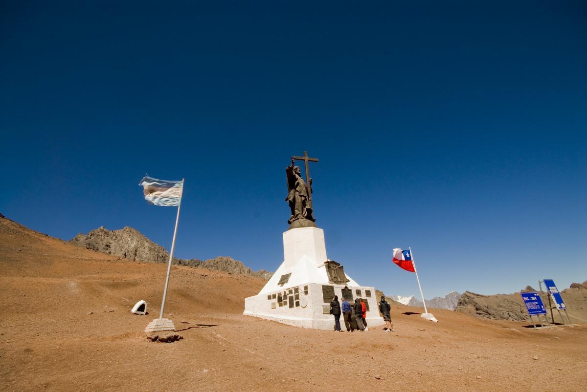 Памятник Христу, Андский Христос, Чили