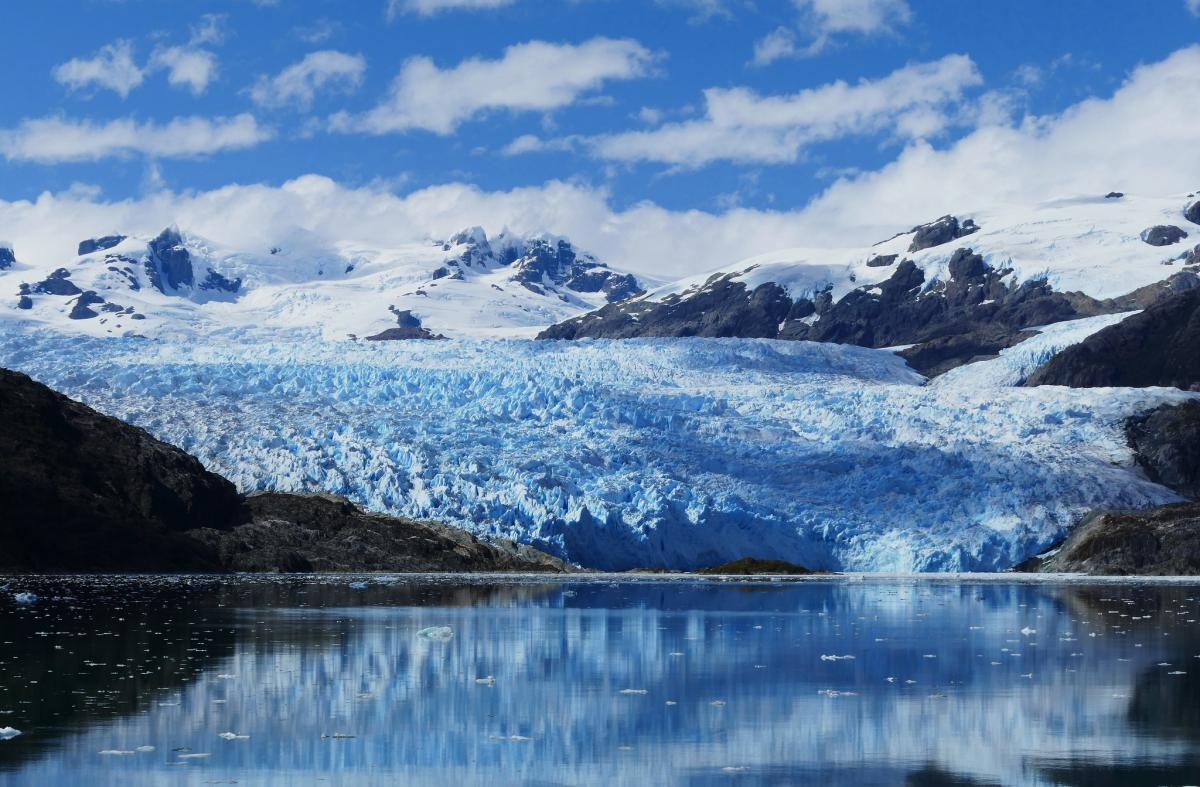 Ледник Эль Брухо, Чили