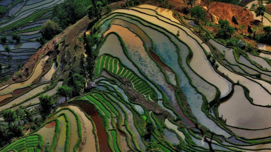 Китай B7P Туристические достопримечательности Юанянг.