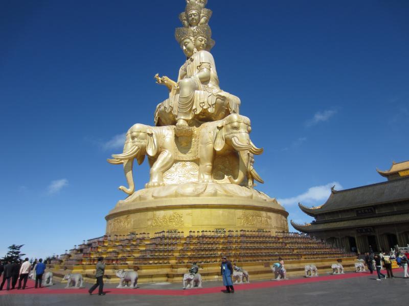 China BA4TB Golden Buddha, Mount Emei.