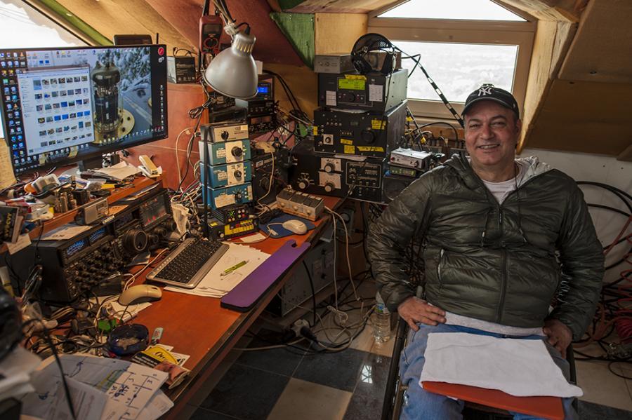 Crete Island SV9CVY Amateur Radio Contest Station