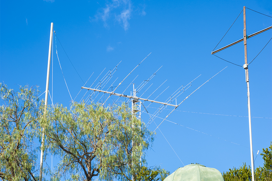 CT4NH Portugal Antenna view from garden