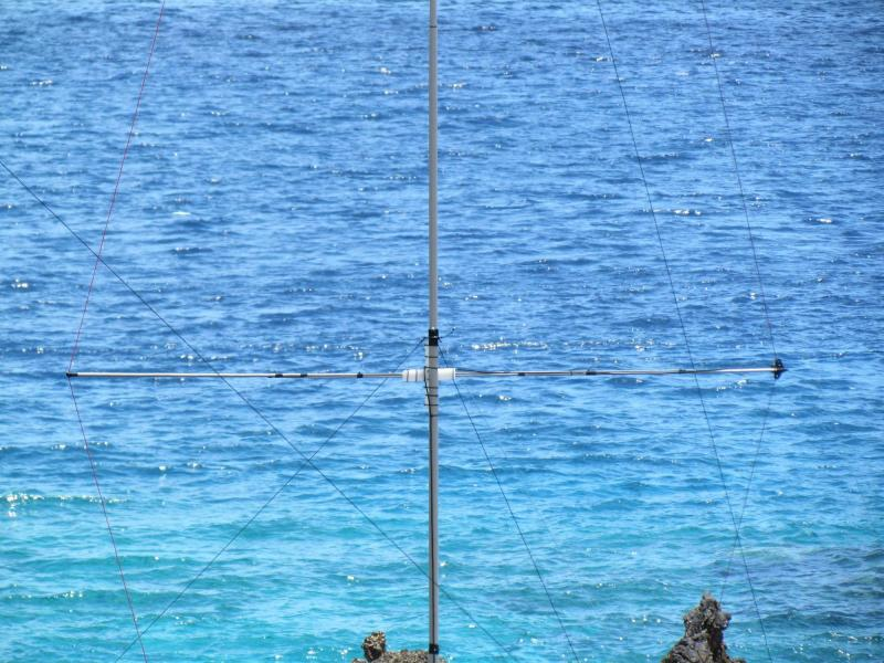 D66D Comoro Islands DX Pedition Story 20m VDA Antenna