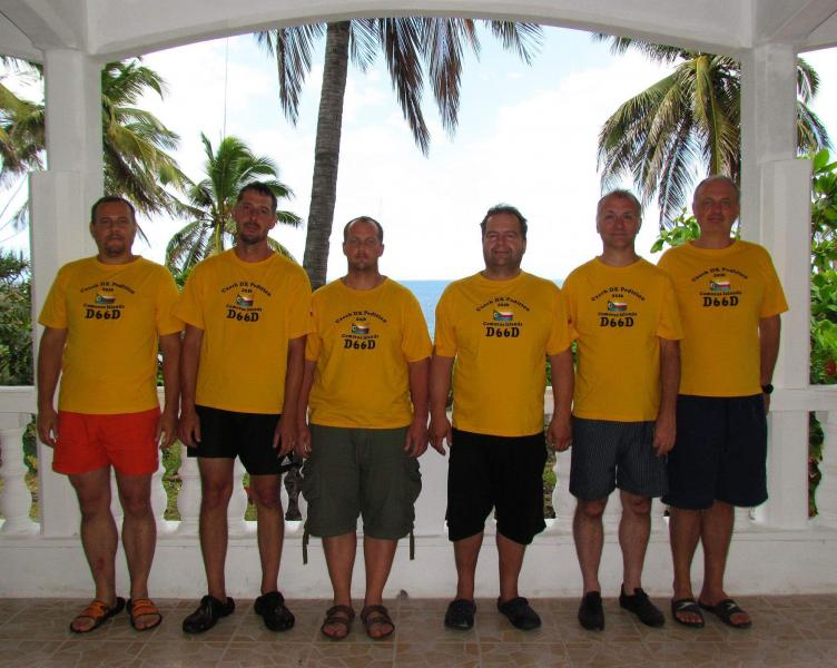 D66D Comoro Islands DX Pedition Story OK1GK, OK2ZA, OK1BOA, OK6DJ, OK1FPS, OK1FCJ.