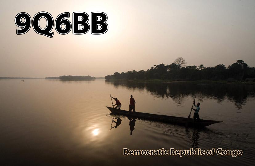 Демократическая Республика Конго 9Q6BB QSL