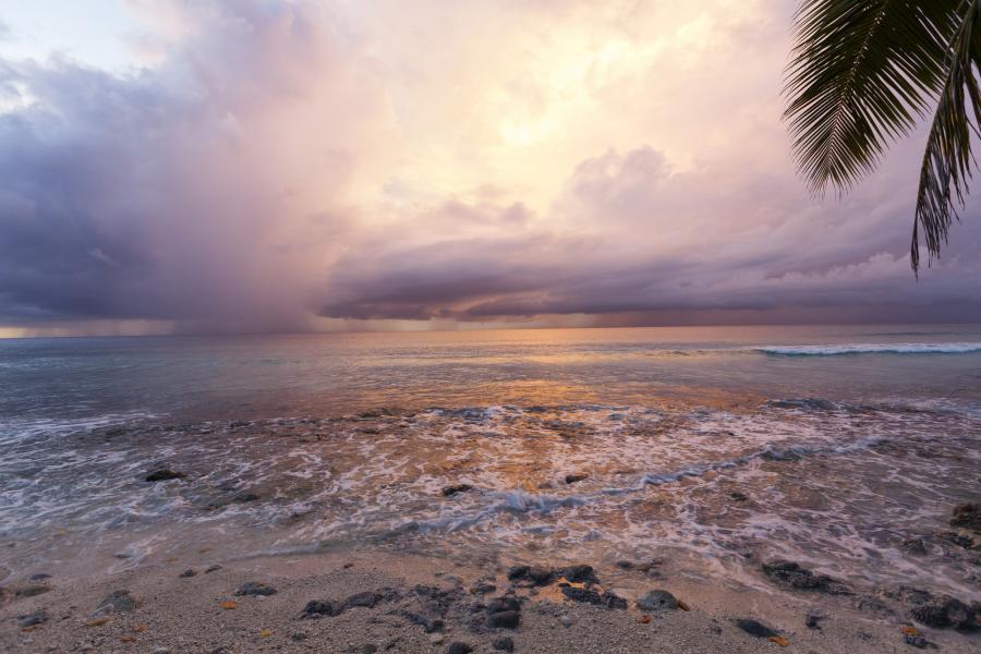 Остров Диего Гарсия VQ917JC Архипелаг Чагос