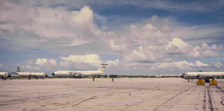 Diego Garcia Island VQ9ZZ VQ9ZZ/MM Chagos Islands Airfield