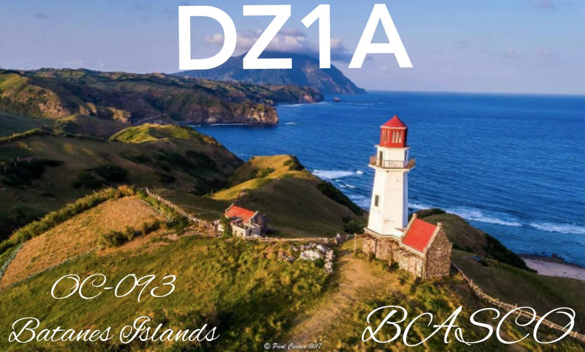 DZ1A/DU2 Batanes Islands QSL